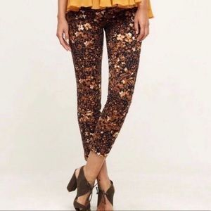 The essential slim by Anthropologie floral pants